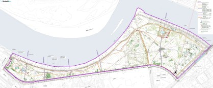 Plan for park reconstruction (Source: Beobuild)