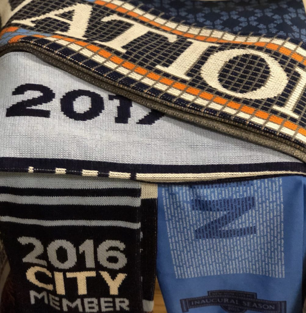 nycfc nation scarf the
