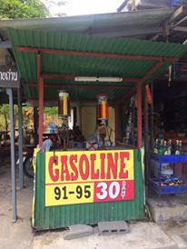 A gas station in Phuket