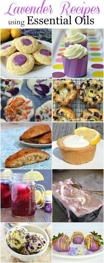 Lavender Recipes using Essential Oils