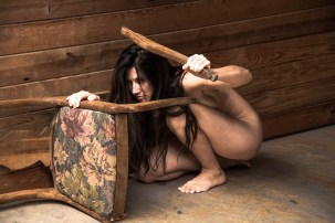 """""""Fear"""" Model: Carey Chrome"""