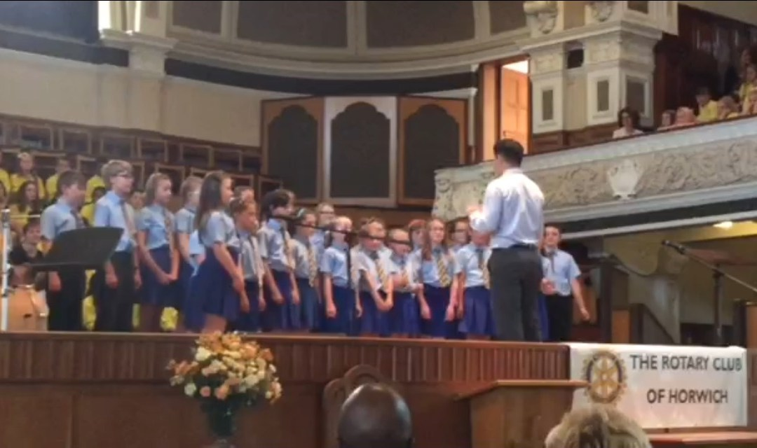 School Choir – Music Festival 2015