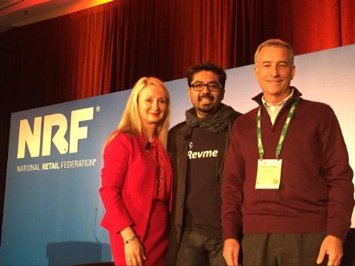 National Retail Federation 2016 Andrea Weiss, Hemang Gadhia, CEO of Revmetrix, Mark Friedman, President Digital | Steve Madden
