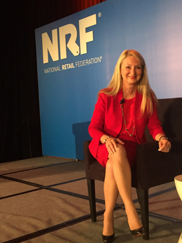 Andrea weiss national retail federation big show speaker 2016