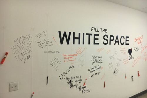 The White Space at White Space 2016 Splashlight event
