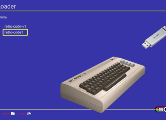 USB Loader TheC64 Mini