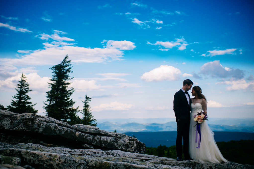dolly sods day after bridal portrait session