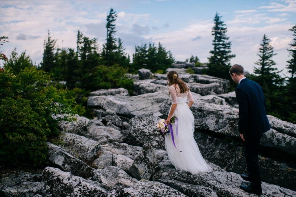 dolly sods wilderness wedding portraits