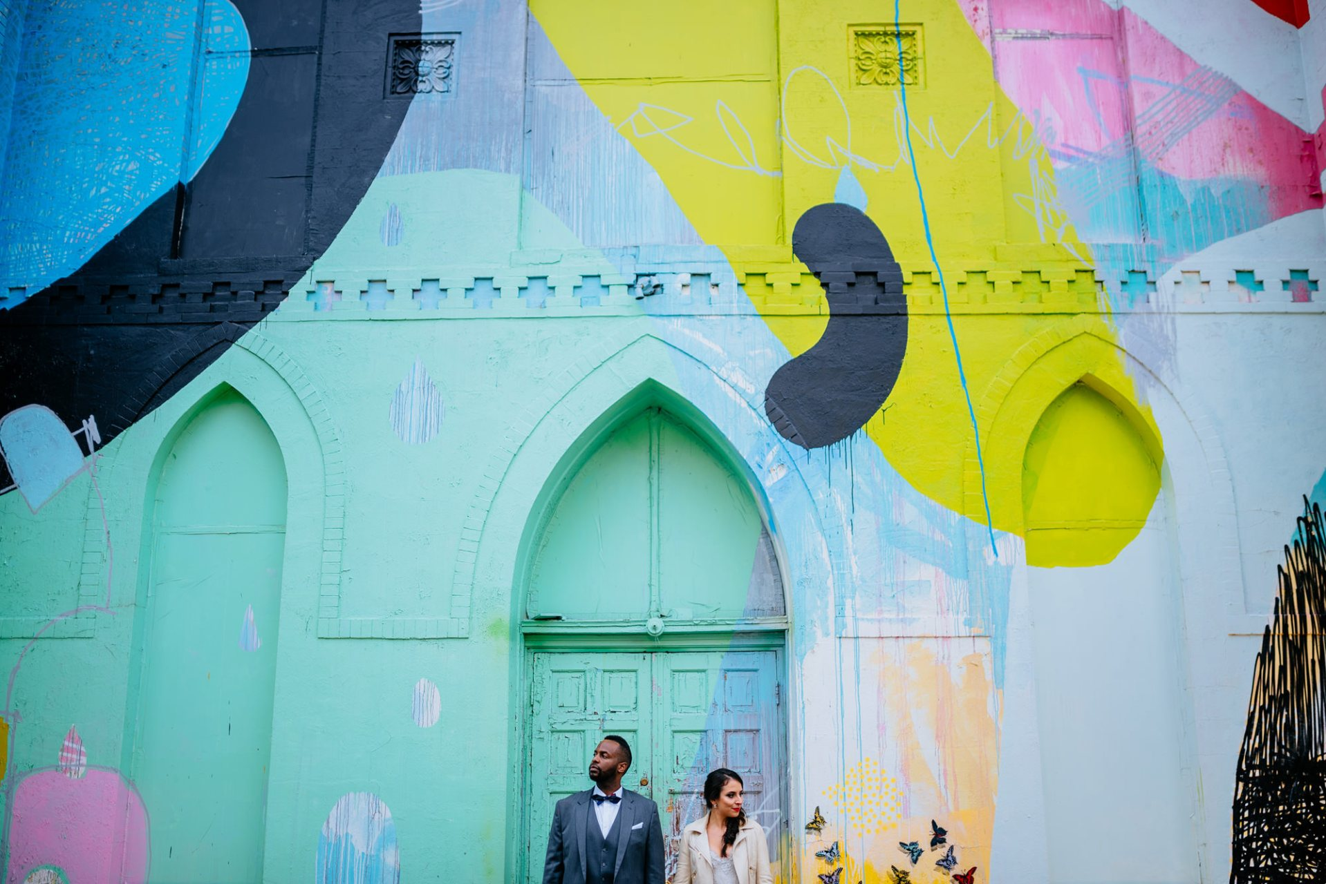 Colorful Urban DC Wedding