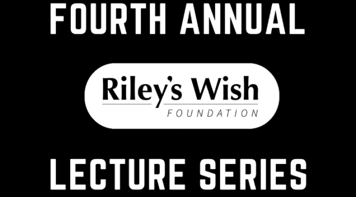 Riley's Wish Lecture Series: OCD and Substance Use Disorder Treatment