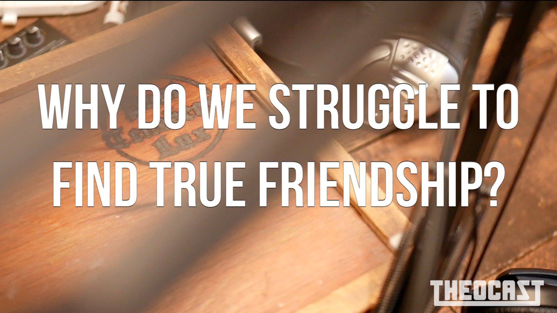 Why do we struggle to find true friendship?