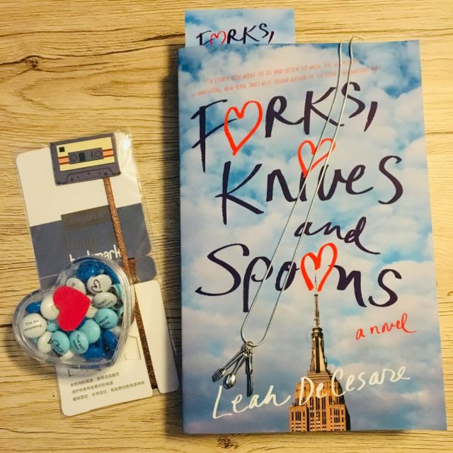Forks, Knives and Spoons by Leah DeCesare It's Monday! What Are You Reading? #weeklyrecap OrangeCountyReaders.com