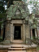 Entrance to Ta Prohm ruins