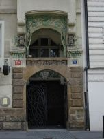 Art Nouveau Entrance, Prague
