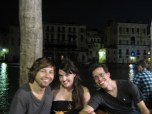 Brett, me and Eric at the docks on our last night