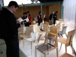 """Eric investigates the """"1 Chair a Week"""" exhibition, where furniture design students created one new chair a week, from design to completion"""