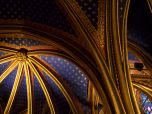 Ceiling of Sainte Chapelle