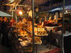 Fresh baked goods at Spitalfields