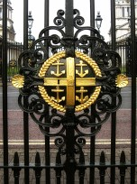 Crest on the Gate of the Maritime Museum