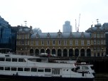 The Customs House on the River Thames, where our guide told us that they test each import of alcohol coming into England