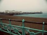 Brighton Pier from the Seafoam Railing