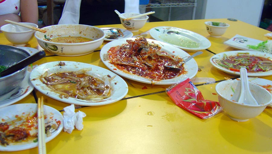 Taitung Lyudao Nanliao Dinner Done