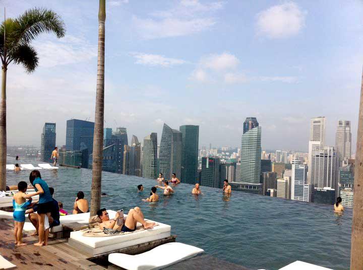 Marina Bay Sands Pool Deck