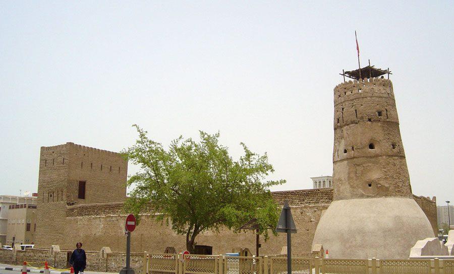 Dubai Al Fahidi Fort Exterior