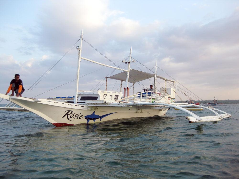 Cebu Malapascua Boat Rosie