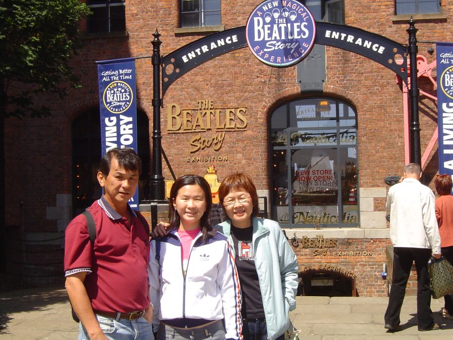 Family in Liverpool
