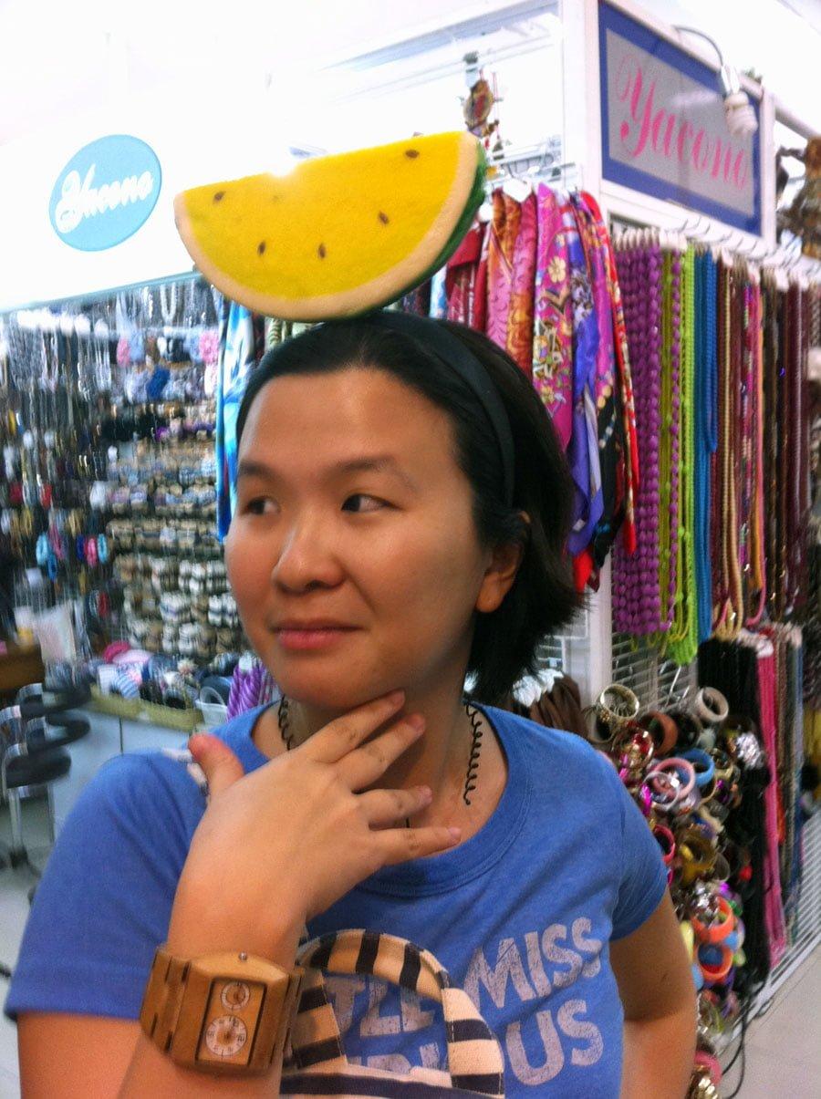 Bangkok Watermelon Hairband