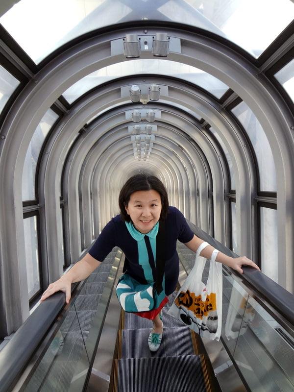 Osaka - Umeda Sky Building Escalator