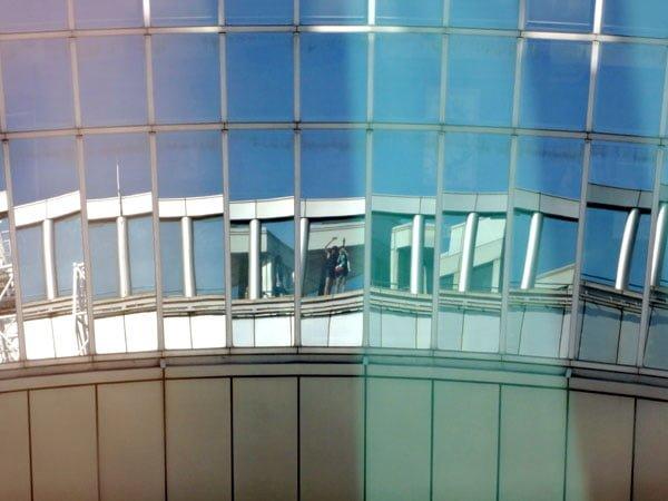 Osaka - Umeda Sky Building Reflection