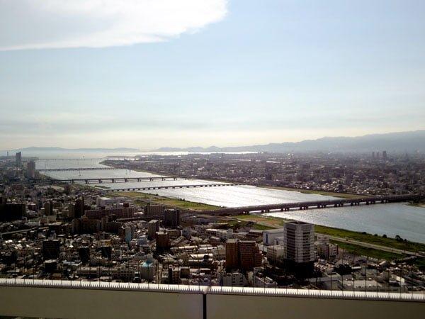 Osaka - Umeda Sky Building Rooftop view