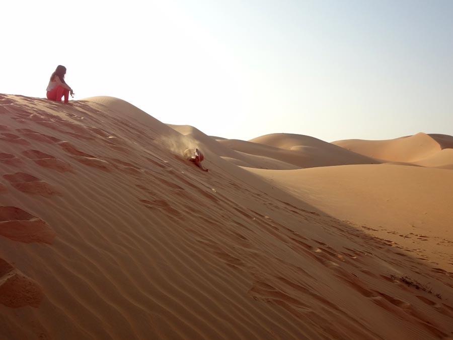 Qasr Al Sarab Sand Dune Rolling