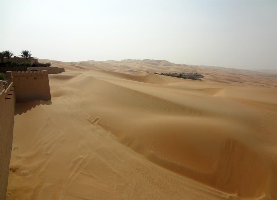 Qasr Al Sarab Wall Sand