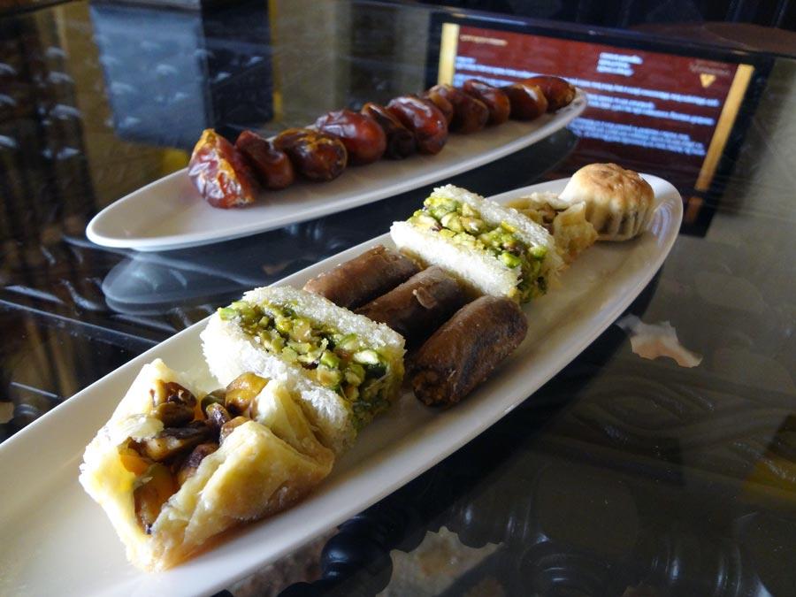 Qasr Al Sarab Welcome Snacks
