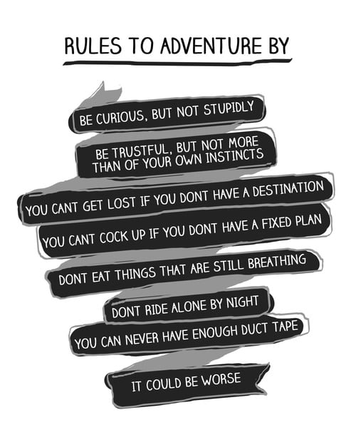 Rules to Adventure By Cherie