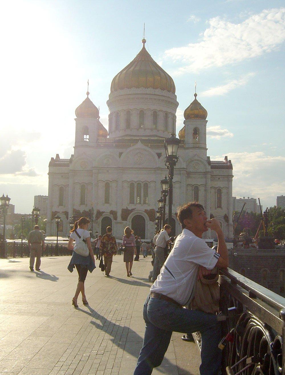 Moscow Church Dad