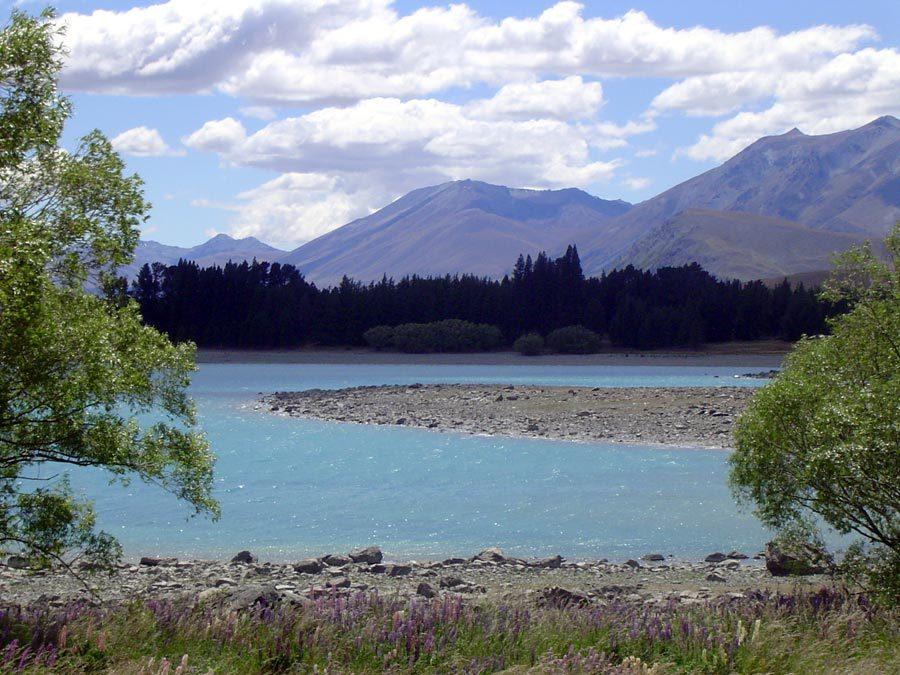 New Zealand Lake Tekapo View