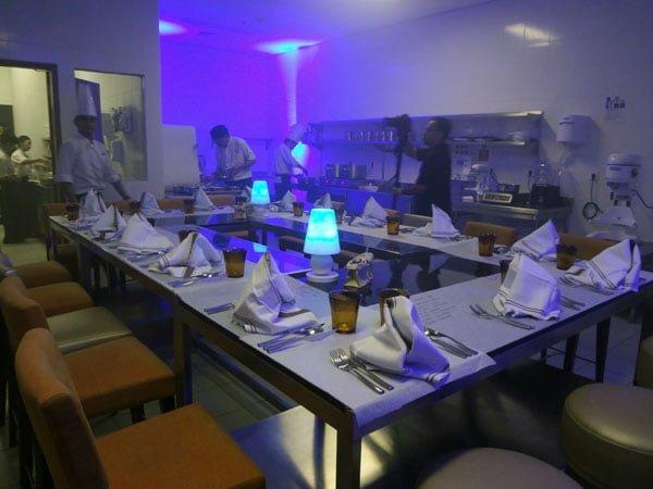 Sheraton Bali Kuta Kitchen Table Dessert Room