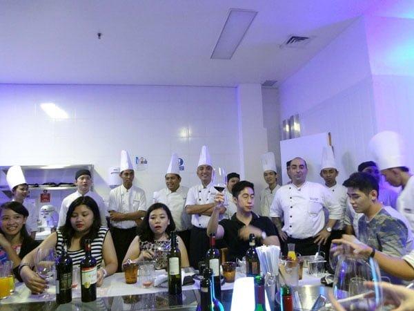 Sheraton Bali Kuta Kitchen Table Chefs