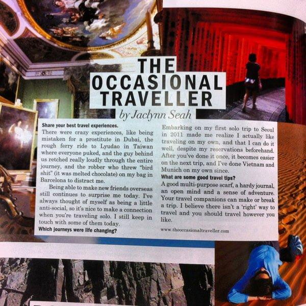 Men's Folio Nov 2013 - Singapore Travel Blogger