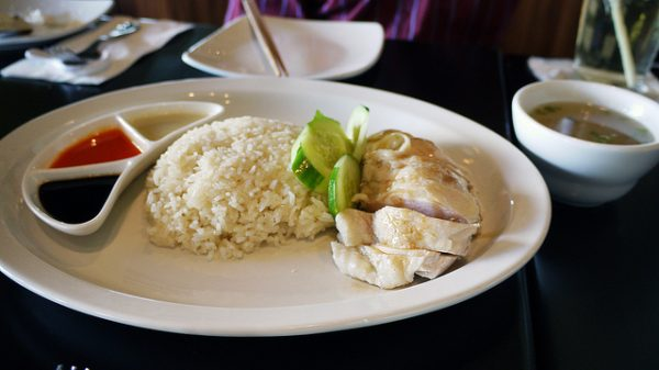 Singapore Food - Chicken Rice