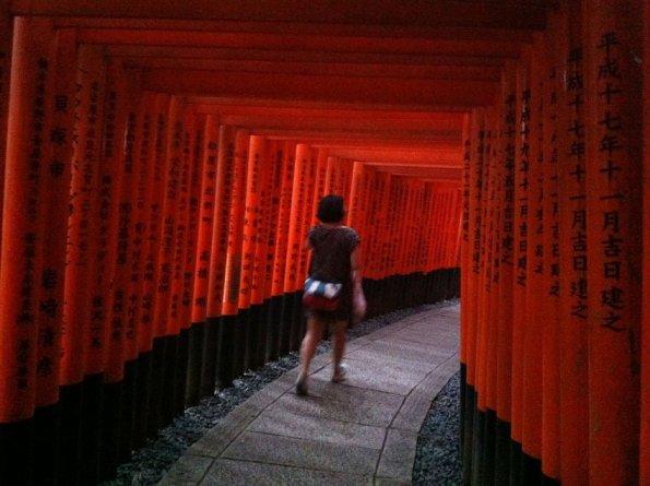 Jac in Fushimi Inari