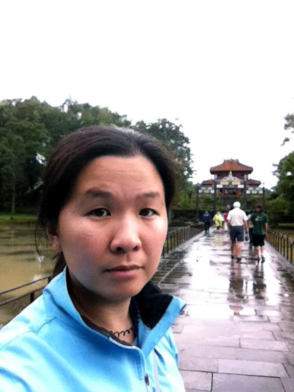 Hue Vietnam Selfie