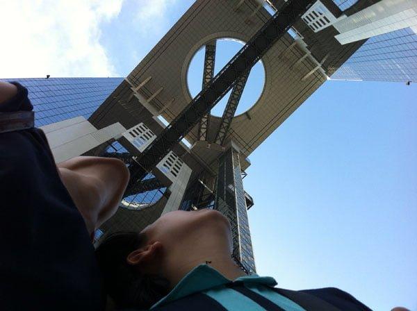 Osaka Umeda Sky Tower Selfie