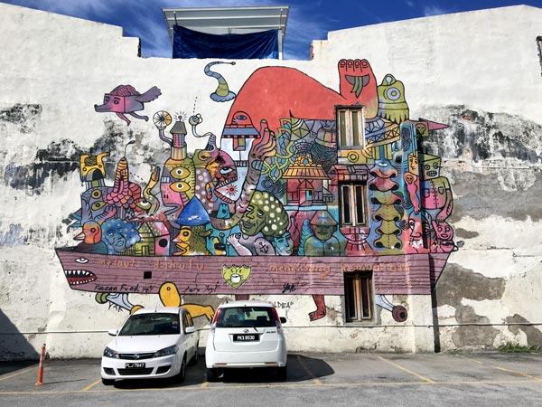 Penang Street Art - Jalan Pantai Fauzan Fuad