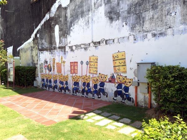 Penang Street Art - Lebuh Pantai Cats