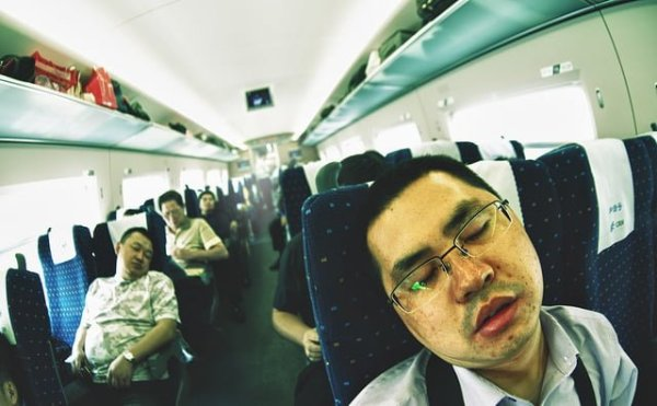 Trips in your 20s - Long Train Ride